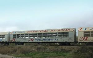 Вагон-сетка для перевозки автомобилей